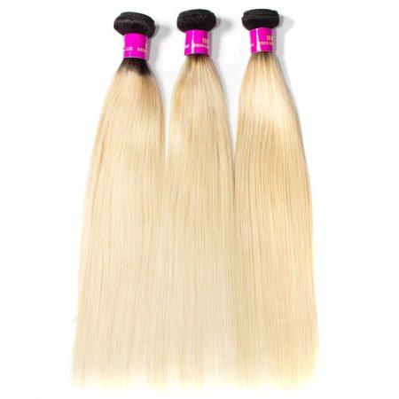 T1B/613 Ombre Brazilian Human Hair Weave Bundles