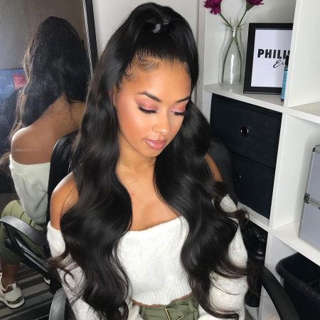 Body Wave 360 Lace Frontal Wigs For Women