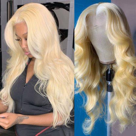 Full 180% Density And Long Blonde Wig
