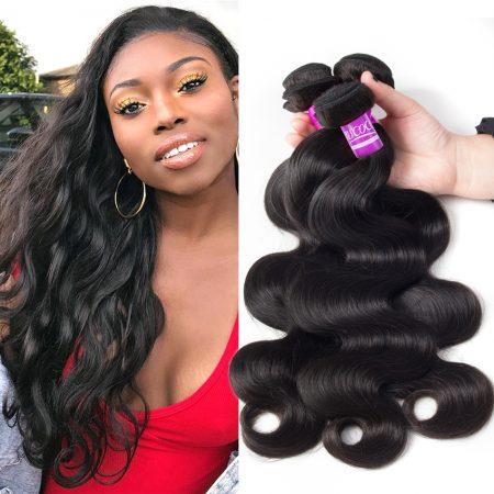 mscoco hair brazilian body wave 3 bundles