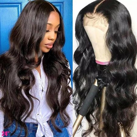 Body Wave Hair 6*6 Human Hair Lace Wigs