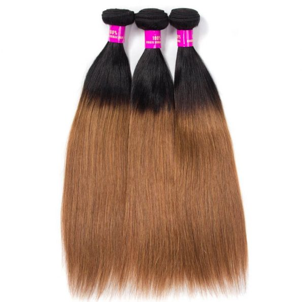brazilian_ombre_straight_hair_1b30_virgin_human_hair_bundles