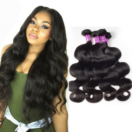 Peruvian Body Wave Weave Hair 4 Bundles Virgin Human Hair Weave