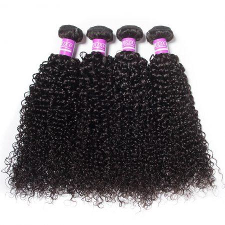 Brazilian Curly Bundles Human Hair 4 Bundles MSCOCO Virgin Hair