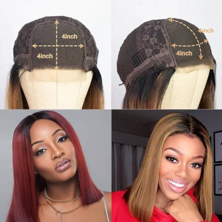 The Details Of The Cap For This Bob Wig