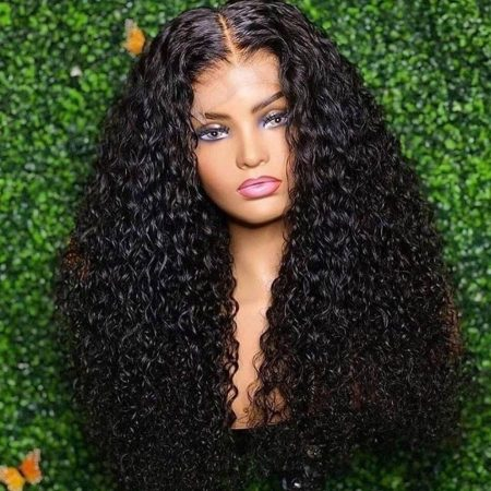 150%-200% Density Affordable Price Closure Wigs In Curly Hair