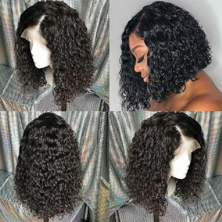 Short Wigs Affordable Curly Lace Front Wigs