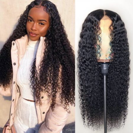 Curly Lace Front Wig In 200% And 250% High Density