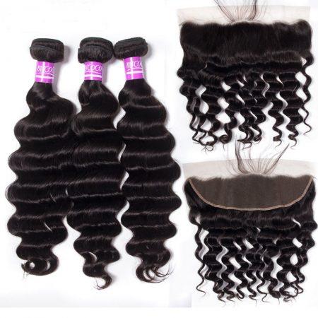 Loose Deep Wave Hair 100% Virgin Remy Hair