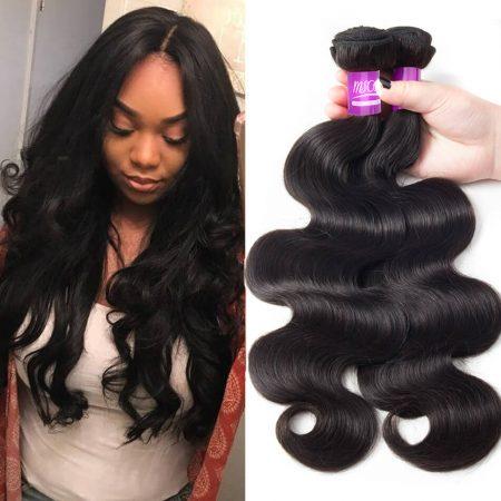 Peruvian Body Wave 3 Bundles Virgin Human Hair Weave