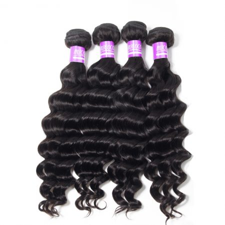 Brazilian Loose Deep Wave Hair 4 Bundles 100% Virgin Remy Hair