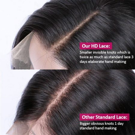 HD Transparent Lace Wig In Water Wave