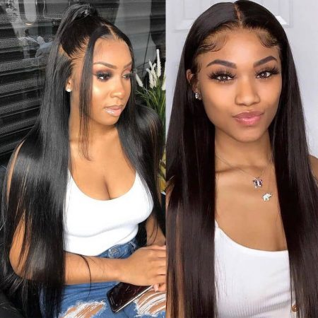 26-40 Inch Long Lace Front Wig In 180%-200% Density Natural Looking Wigs For Women Is On Sale