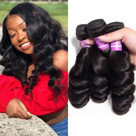 Indian Loose Wave Hair Weave Virgin Human Hair Sale