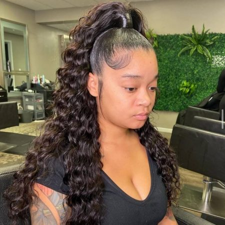 HD 13x4 Frontal Wig With Pre Plucked Natural Hairline And Baby Hair