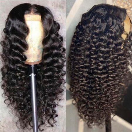 Natural Looking Loose Deep Wave Hair Wigs