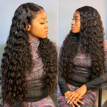 Long Loose Deep Wave 13x4 Lace Front Wig