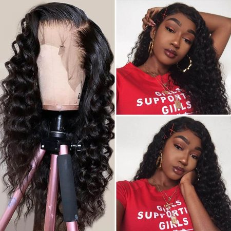 Wavy Lace Wig Lace Front Wigs Loose Deep Hair
