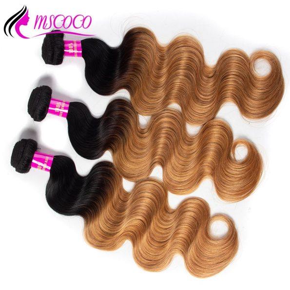 mscoco-peruvian-hair-3-bundles-body-wave-honey-blonde-ombre-human-hair-weave-bundles-two-tone