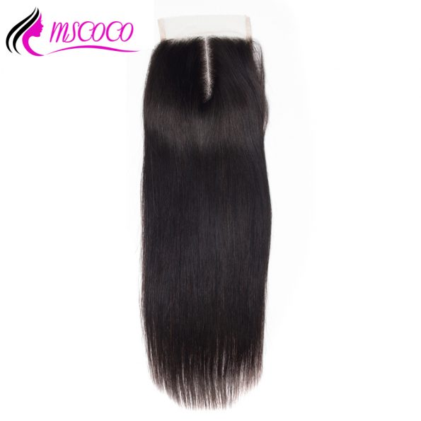 mscoco_human_hair_5x5_straight_lace_closure_free_part_brazilian_hair_closure_bleached_knots_with_baby_swiss_lace_10-20_remy_hair_3