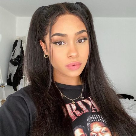 Unprocessed Straight 360 Lace Frontal Wig