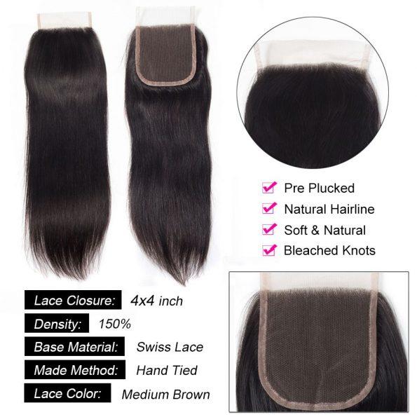 straight_hair_4x4_lace_closure