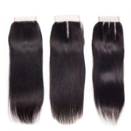 Brazilian 4x4 Straight Hair Lace Closure