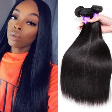Brazilian Straight hair 3 Bundles Virgin Human Hair Weave