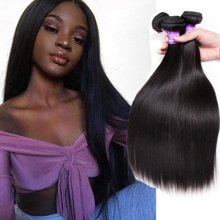 Peruvian Straight Hair 3 Bundle Deals Human Hair Weave Extensions