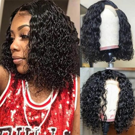 Water Wave Short Cut Wigs Natural Looking Short Wigs
