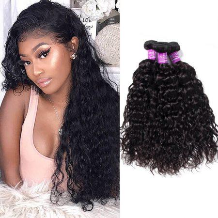 Water Wave Bundles Virgin Human Hair Weave 3 Bundles