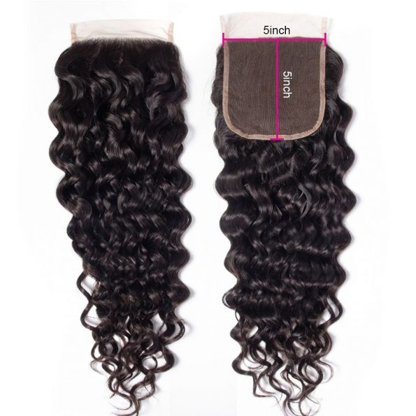 water_wave_human_hair_5x5_lace_closure