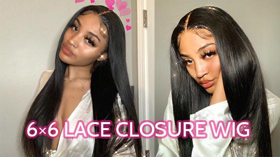 6x6 closure wig