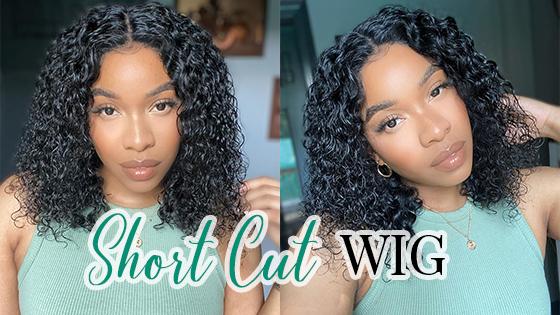 short cut wig